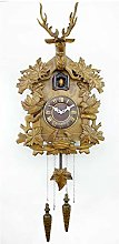 YYIFAN Cuckoo Clock Quartz Movement, deer/Maple