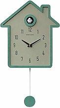 YYIFAN Cuckoo Clock Simple Fashion Wood Creative