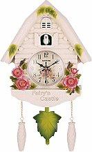YYIFAN Cute Bird Wall Clock Cuckoo Alarm Clock,