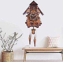 YYIFAN Elegant Cuckoo Pendulum Wall Clock Quartz