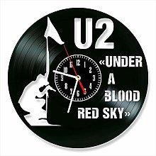 YYIFAN Handmade Vinyl Record Wall Clock,Irish Rock