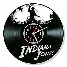 YYIFAN Indiana Jones 12 Inch Vinyl Clock, Modern
