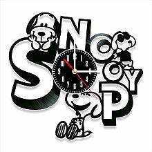 YYIFAN Snoopy Vinyl Wall Clock Family Decoration