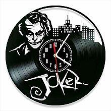 YYIFAN Vinyl Wall Clock art Decor Home Joker Wall