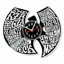 YYIFAN Vinyl Wall Clock art Decor Wu Tang Home