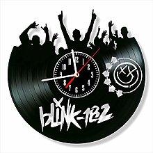 YYIFAN Vinyl Wall Clock Blink 182 Family