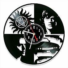 YYIFAN Vinyl Wall Clock Supernatural art Decor