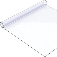 YYLLUODID Waterproof Clear PVC Tablecloth