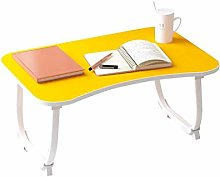 YYLNB Laptop lap Bed Table Foldable Breakfast Tray