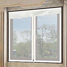 YYNMANE Window Screen mesh Curtain, Zipper Window