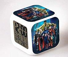 Yyoutop Alarm clock children cool digital clock
