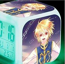 Yyoutop Alarm clock, color-changing digital alarm