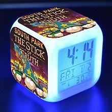 Yyoutop Cartoon toy children's alarm clock LED