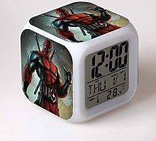 Yyoutop Color change toy gift clock alarm clock