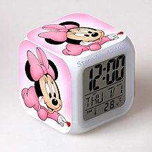 Yyoutop Digital alarm clock toy clock print