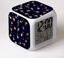 Yyoutop Game alarm clock LED colorful luminous