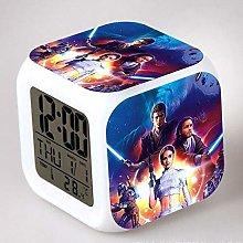 Yyoutop Movie kids alarm clock solo light digital