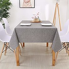 YYQIANG Linen Tablecloth, Kitchen Table