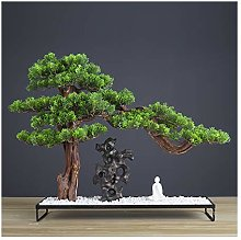 Yyqx Artificial Plants Artificial Bonsai Juniper