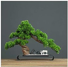 Yyqx Artificial Plants Artificial Bonsai Pine