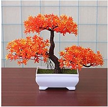 Yyqx Fake Plants Small Artificial Plants Bonsai