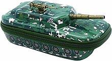 Yyqx Pencil Case Creative 3D Tank Pencil Case