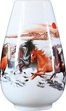 Yyqx vase Ceramic Vase 22.5cm High 14.7cm Wide,
