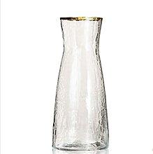 Yyqx vase Clear Glass Vase 10.5cm Wide 23.5cm High