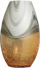 Yyqx vase Nordic Painted Glass Vase Creative Ice