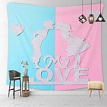 YYRAIN Nordic Printing Polyester Tapestry Beach