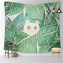 YYRAIN Nordic Printing Polyester Tapestry Home