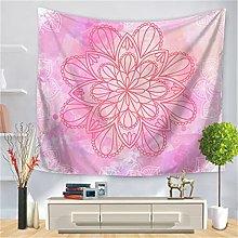 YYRAIN Polyester Mandala Pattern Wall Hanging Home