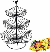 YYRZ 3 Tier Countertop Fruit Basket Decorative