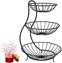 YYRZ Countertop Fruit Basket, 3 Tier Fruit And