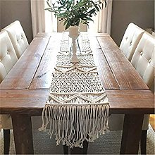 YYSDH Macrame Table Runner Woven Wedding Table