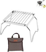 YYUNANG Folding Campfire Grill+Storage Bag,