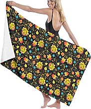 yyuu Home Textile Towel Adult Flower Absorbent
