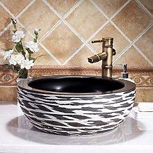 YYZD® bathroom sink Bathroom cloakroom art basin