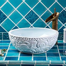 YYZD® bathroom sink Ceramic art basin countertop