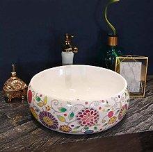YYZD® bathroom sink Million Bird Sink, Ceramic