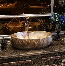 YYZD® bathroom sink Oval bathroom cabinet style,