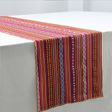 YZEO 14 x 108 inch 2 PCS Mexican Table Runner