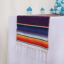 YZEO 14x84 Mexican Table Runner for Mexican Fiesta