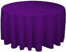 YZEO 50 inch Fibre Table Cloth Polyester Table