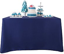 YZEO 54x54 inch Polyester Table Cloth 100%