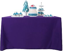 YZEO 60x120 Inch Fibre Table Cloth Polyester Table