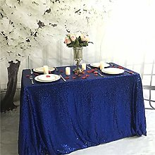YZEO Glitter Rectangular Royal Blue Sequin