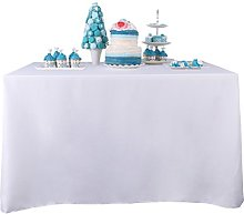 YZEO Rectangle Polyester Table Cloth 100%