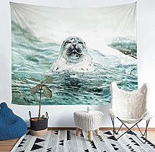 YZHEWQ Wall Tapestry animal Tapestry for Bedroom