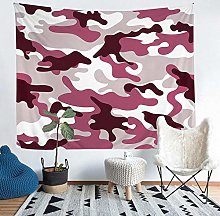 YZHEWQ Wall Tapestry Camouflage Tapestry for